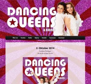 Website Dancing Queens