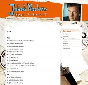 Web Jakob Nacken